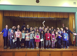 Young Storytellers Big Show at Saturn Elementary