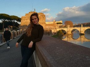 Alumni of the month Emma Smith, Italy