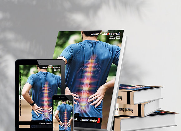 "Ebook Kiné Lombalgie ""3"" Musculaire & Stretching"