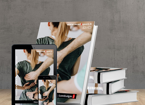 """Ebook Kiné Lombalgie """"2"""" Musculaire & Stretching"""