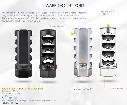 Warrior 4 Port Self Timing Brake