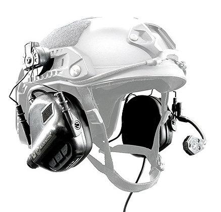 Earmor M32H Noise Reducing Helmet Headset - Black