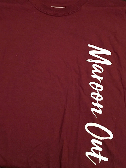 Maroon Out short-sleeve shirt