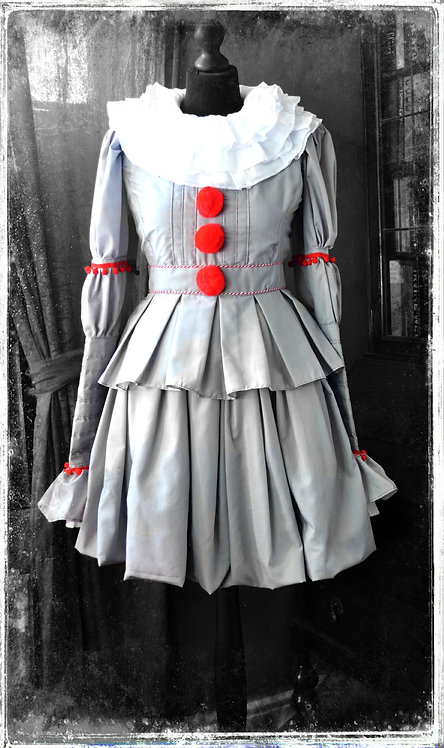 Lady Pennywise The Dancing Clown Costume