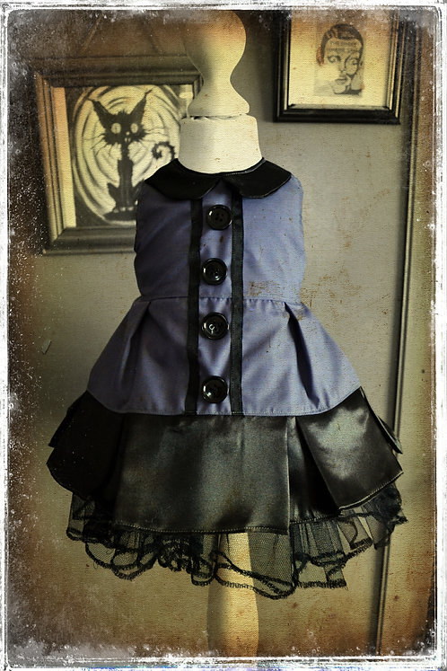 The Ghoul from Sinister Lane Creepy Gothic Dress