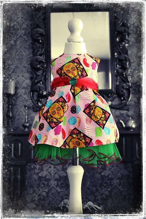 Rotten Candy Apple Creepy Girls Dress