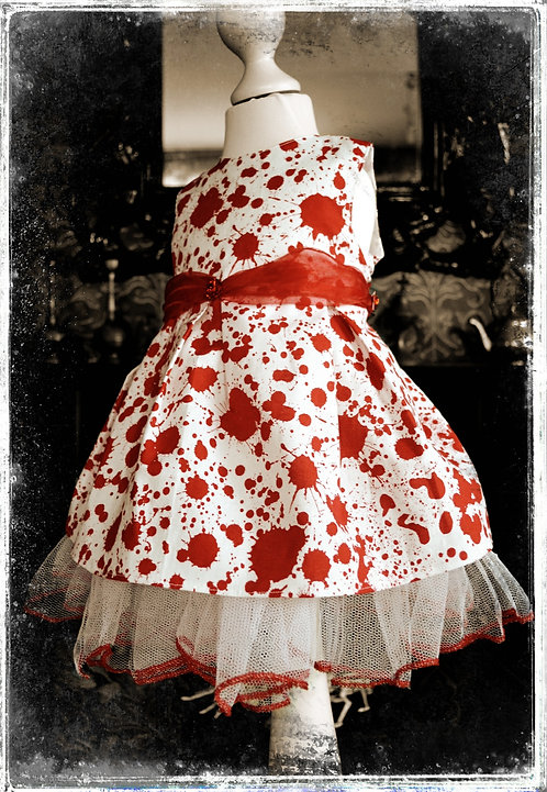 Bloodbath Birthday Party Horror Gown