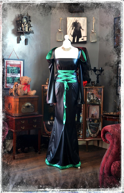 The Deadly Sin of Envy Dress