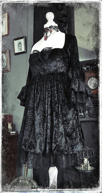 The Mourning Witch Dress