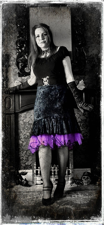 Desdemona The Gypsy Demon Gothic Skirt