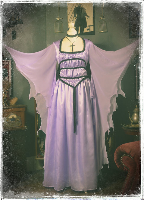 Lily Munster Replica Burial Gown