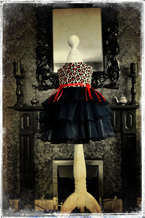 Baby 'Bettie BloodSucker' Cha Cha Dress