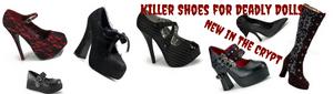 Killer Shoes for Deadly Dolls