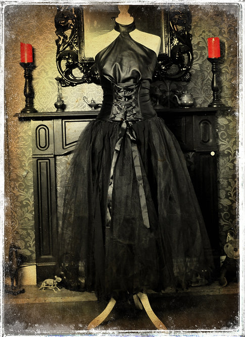 Mistress Web Gown