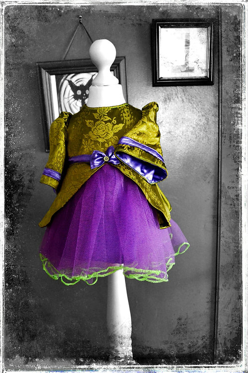 The Wierd & Wonderful Miss Wonka Witch Dress