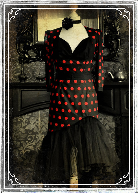 Veronica, The Vampire of Hollywood Vintage Style Dress
