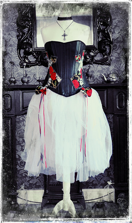 Dance With The Dead Spooky Corset & Skirt