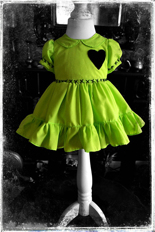*Little Horror* Gothic Frankenstein Dress