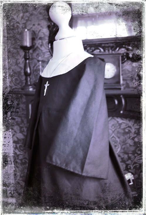 Child of Valak Demonic Nun Gown/Costume