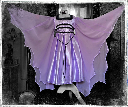 Authentic Replica Lily Munster Burial Dress for Little Ghouls
