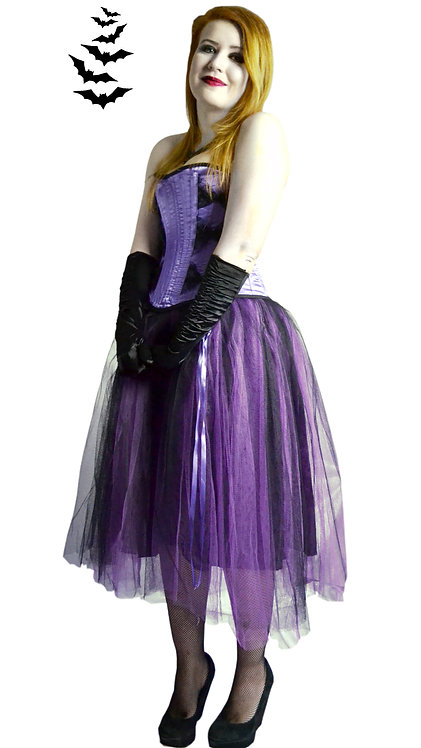The Kiss of Deadly Nightshade Corset & Skirt