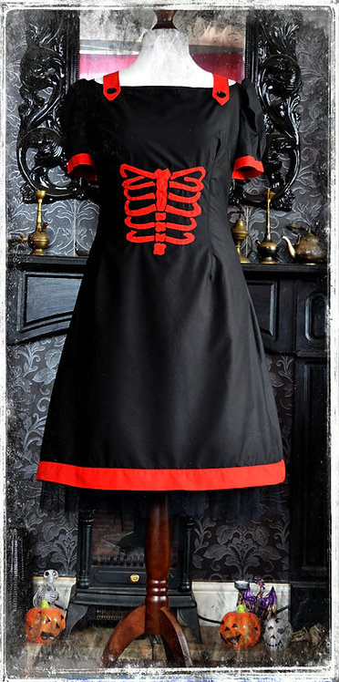 Skeleton in The Closet Pin Up Dress