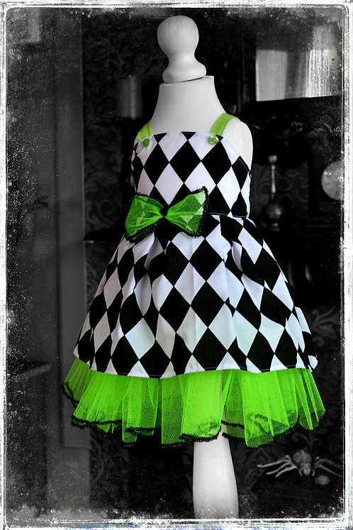 'Clarice and the Poisoned Cupcake' Spooky Party Dress