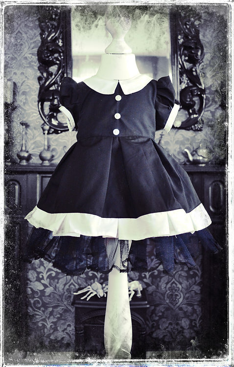 Wicked Wednesday The Girl with the Black Heart Goth Dress