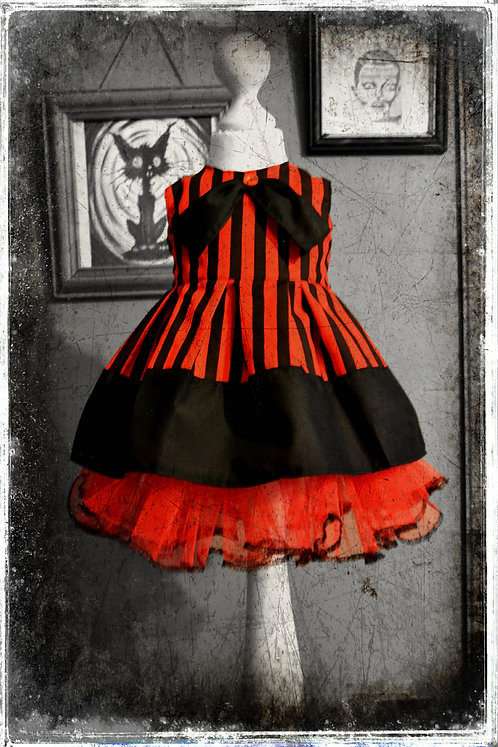 Mademoiselle Barnum The Wicked Little Showgirl Gothic Dress