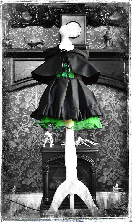 Baba Elphaba The Teeny Witch Dress & Cape
