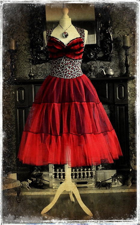 Bettie BloodSucker Gothabilly Vintage Style Dress