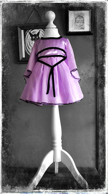 Little Millie Munster Gothic Vampire Dress