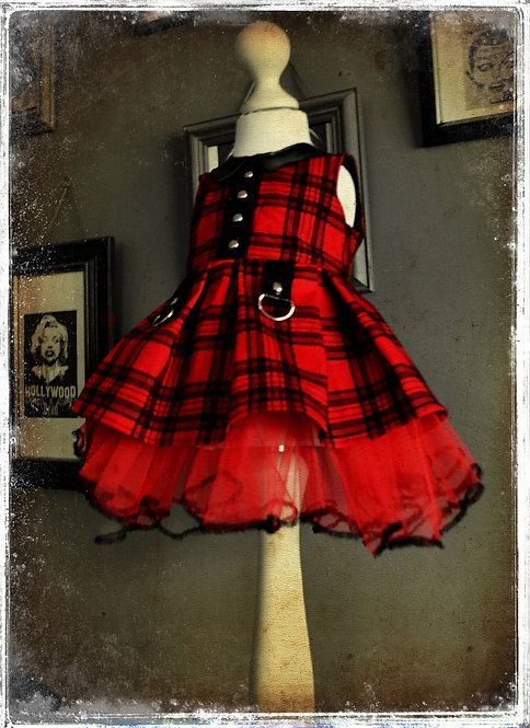 Princess Brody The Little Punk Ghoul Dress