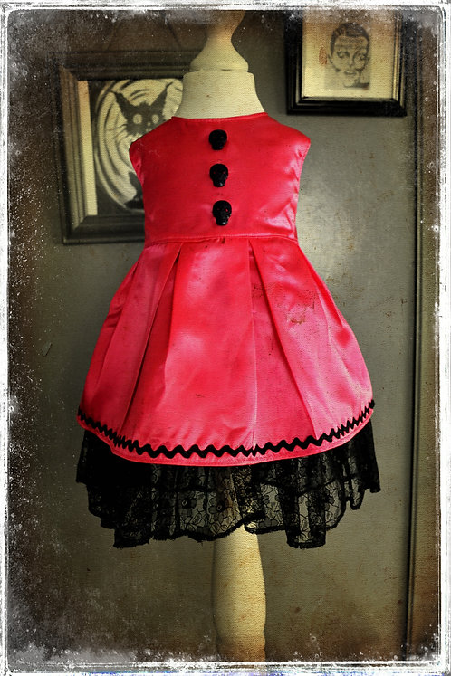 Sweet, Sweet Cyanide Pretty Little Poisoner Party Dress