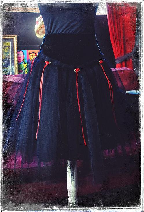 Dead Flowers in The Graveyard Gothic Lolita Skirt