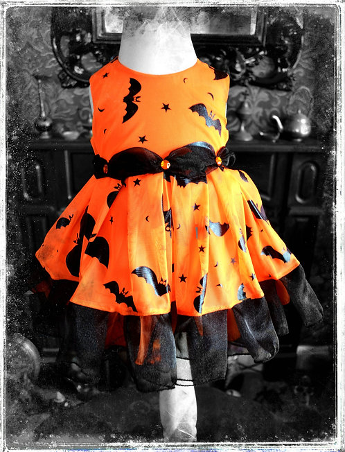 Bella and The Bat Gothic Dress