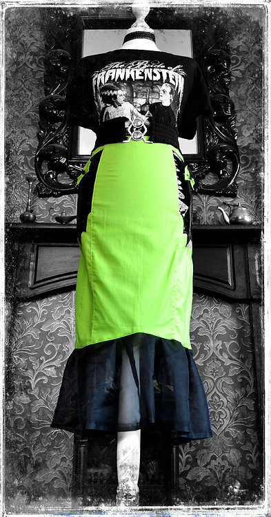 'Something Wicked This Way Comes' Creepy Gothic Skirt