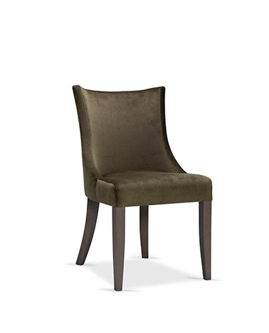 Chaise de salle à manger tissu personnalisable
