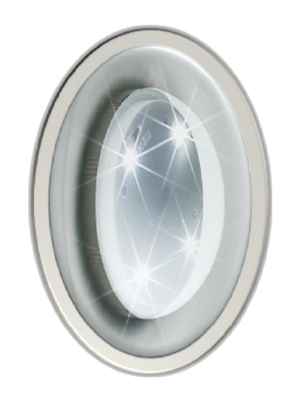Lighting solutions for portable toilets