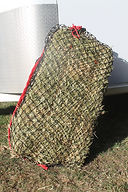 Small square slow feed hay net