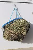 Half bale slow feed hay net