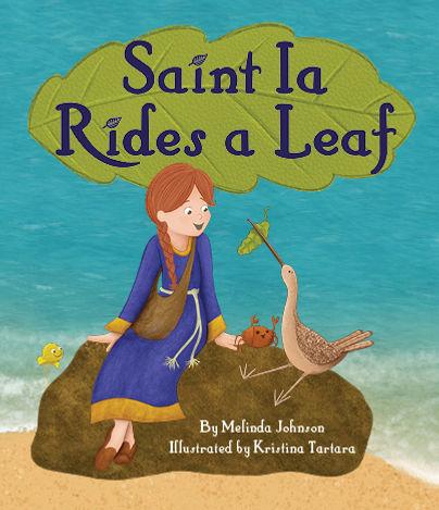 saint ia, saint ia rides a leaf, saint ia leaf,