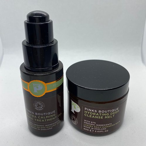 Pinks Boutique Ultra Calming Organic Treatment & Hydrating Deep Cleanse Melt