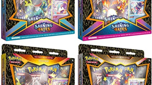 Pokémon TCG: Shining Fates: Mad Party Pin Collection
