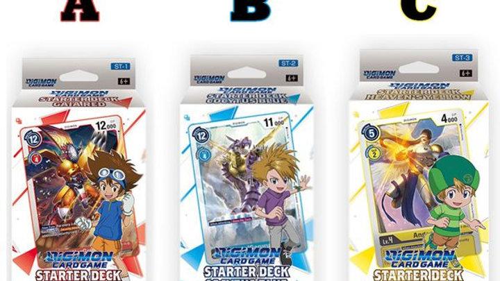 DIGIMON CARD GAME TCG Starter Decks