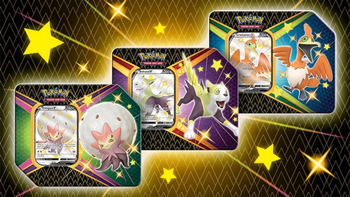 Pokémon TCG: Shining Fates Tin Box