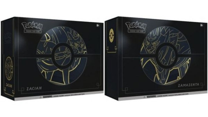 Pokemon – Sword & Shield – Elite Trainer Box Plus – Zacian / Zamazenta