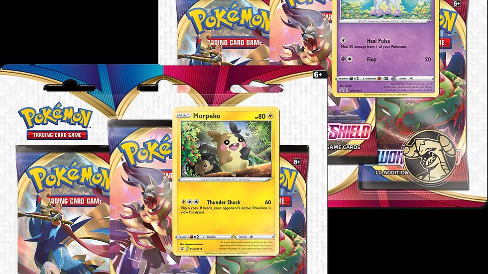 Pokemon Sword & Shield Blister Pack with 3 Booster Packs