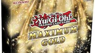 YuGiOh Trading Card Game Maximum Gold MINI