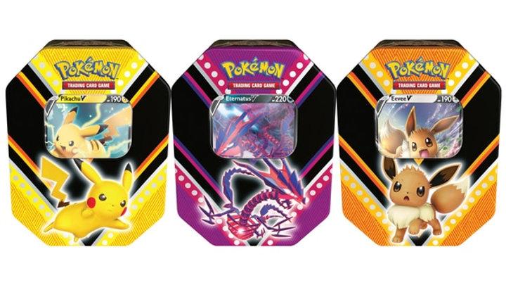Pokémon Trading Card Game V Powers Tin Assortment